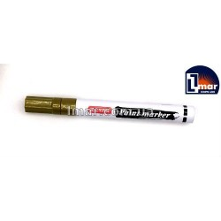 Маркер маслоной 2,5 мм Zeyar Paint (Золотистый)