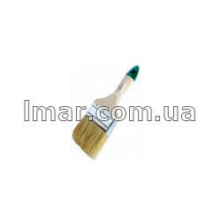 Кисть флейцевая деревяной ручка красной 1 (25мм)