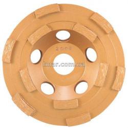 Алмазный шлифовальный диск c двойной  Сегмент 125х22,5х мм