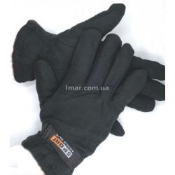 Трикотажные перчатки с утепленной вкладкой мужские sport