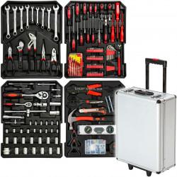 Набір інструментів в алюмінієвому валізі