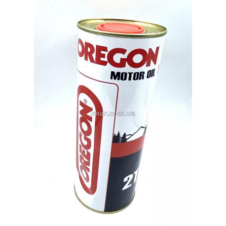 Масло OREGON 2Т железная литровая банка