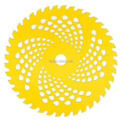 Ніж для мотокос 40-зубчастий Жовтий