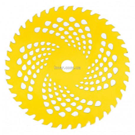 Нож для мотокос 40-зубчатый Желтый