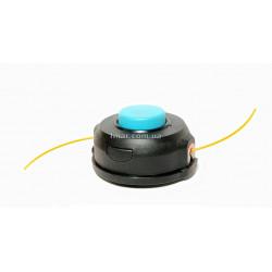 Катушка (шпуля) бензокосы синий нос с полуавтоматической