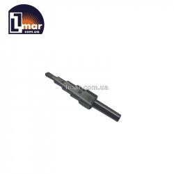 Сверло ступенчатое по металлу 4-12 мм  с трехгранным хвостовиком Lmar HSS на 5 ступеней