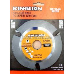 Пильный диск по дерево для ушм king Lion
