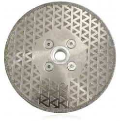 Алмазный диск для резки и шлифовки мрамора  Диаметр 125 мм