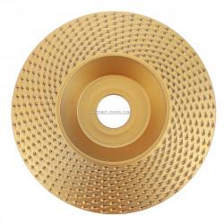Шлифовальный диск фреза по дереву для болгарки 125мм